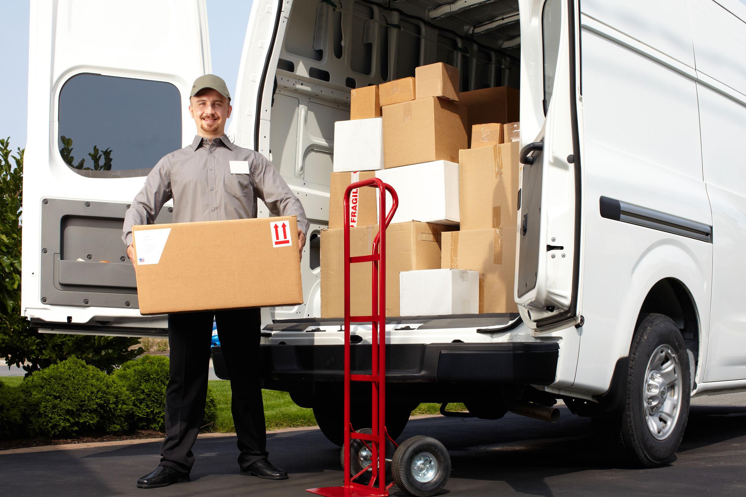 a man providing Lighthouse Point Moving Company Services