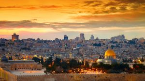 panorama of jerusalem you can see when moving to israel