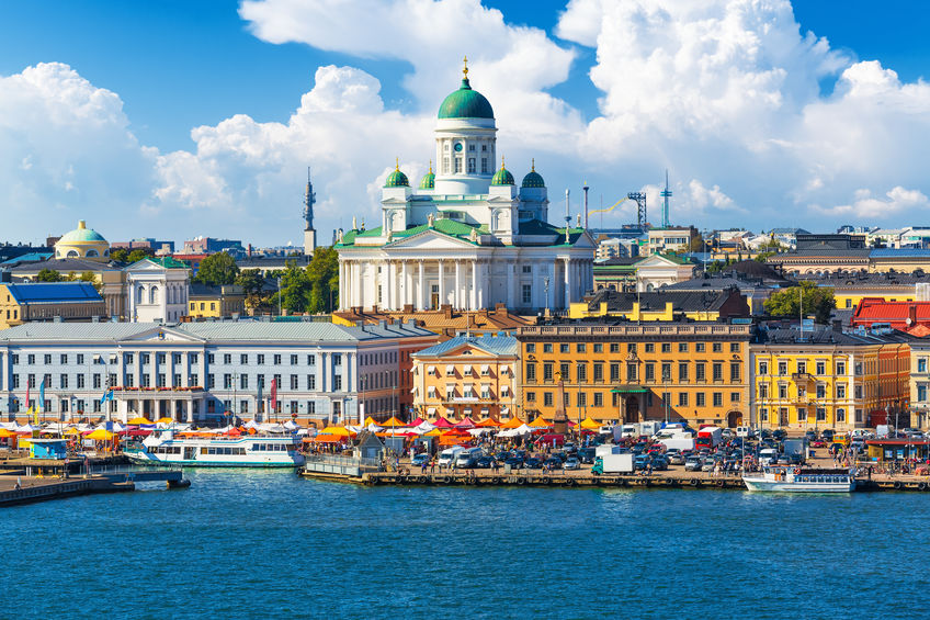 moving to finland to see this view of helsinki
